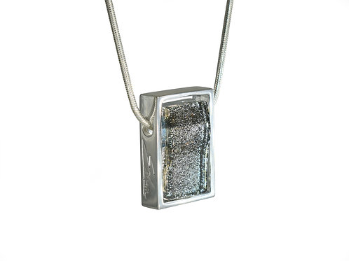 Sparkling Grey Northern Lights Necklace By Ellen Kvam Norwegian Design