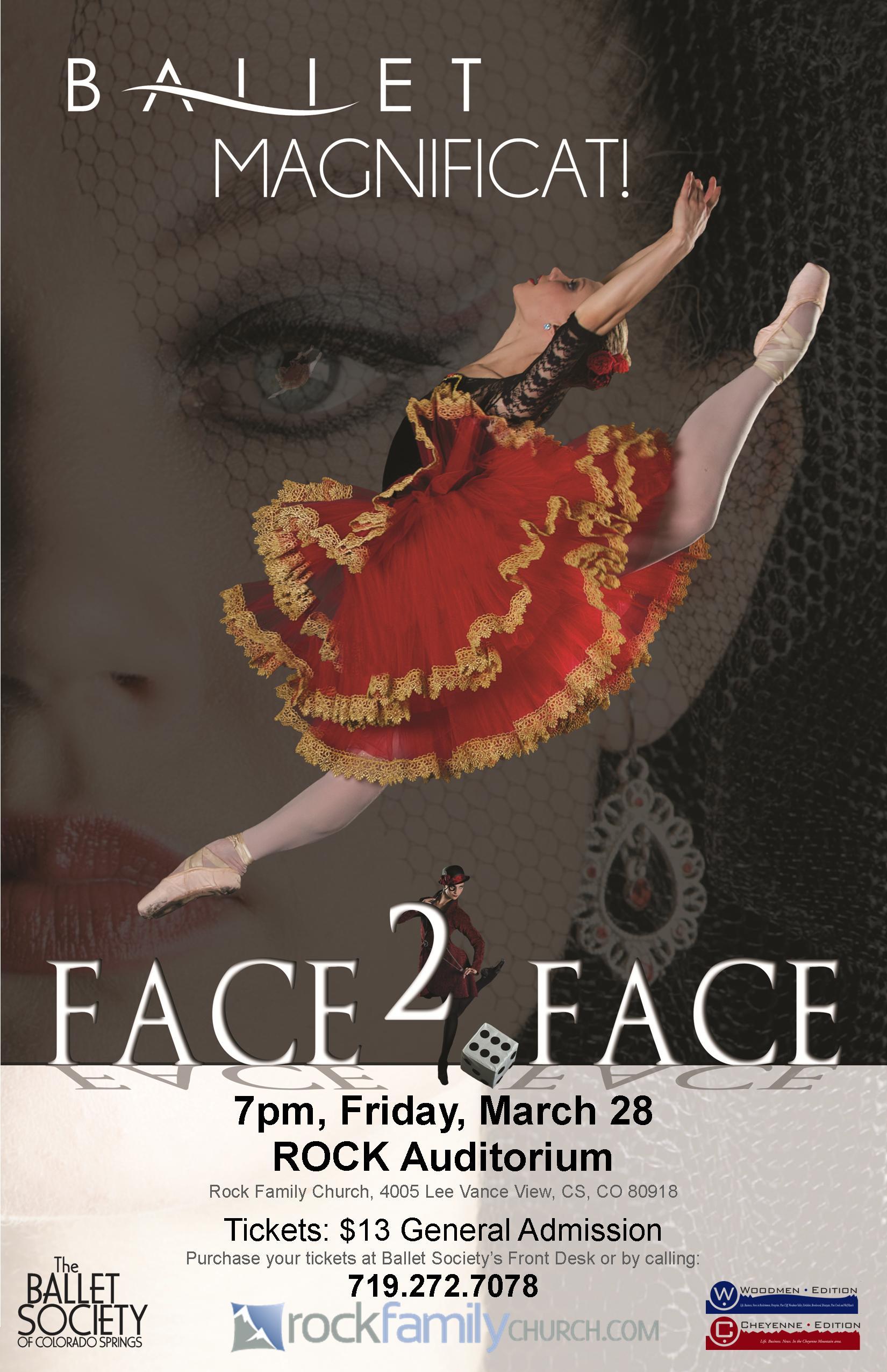 2014-4-28 Ballet Mag Face2Face poster