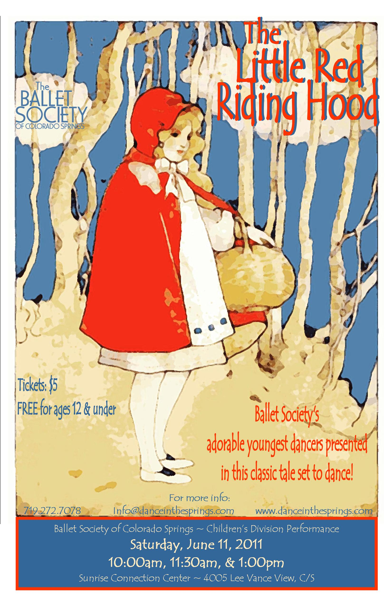 2011-6-11 Little Red Riding Hood poster