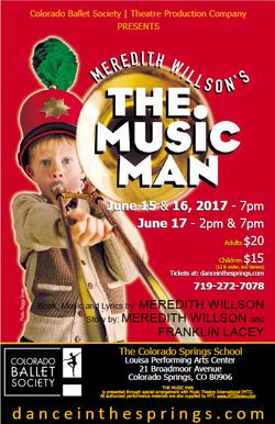 Music Man 2017 poster