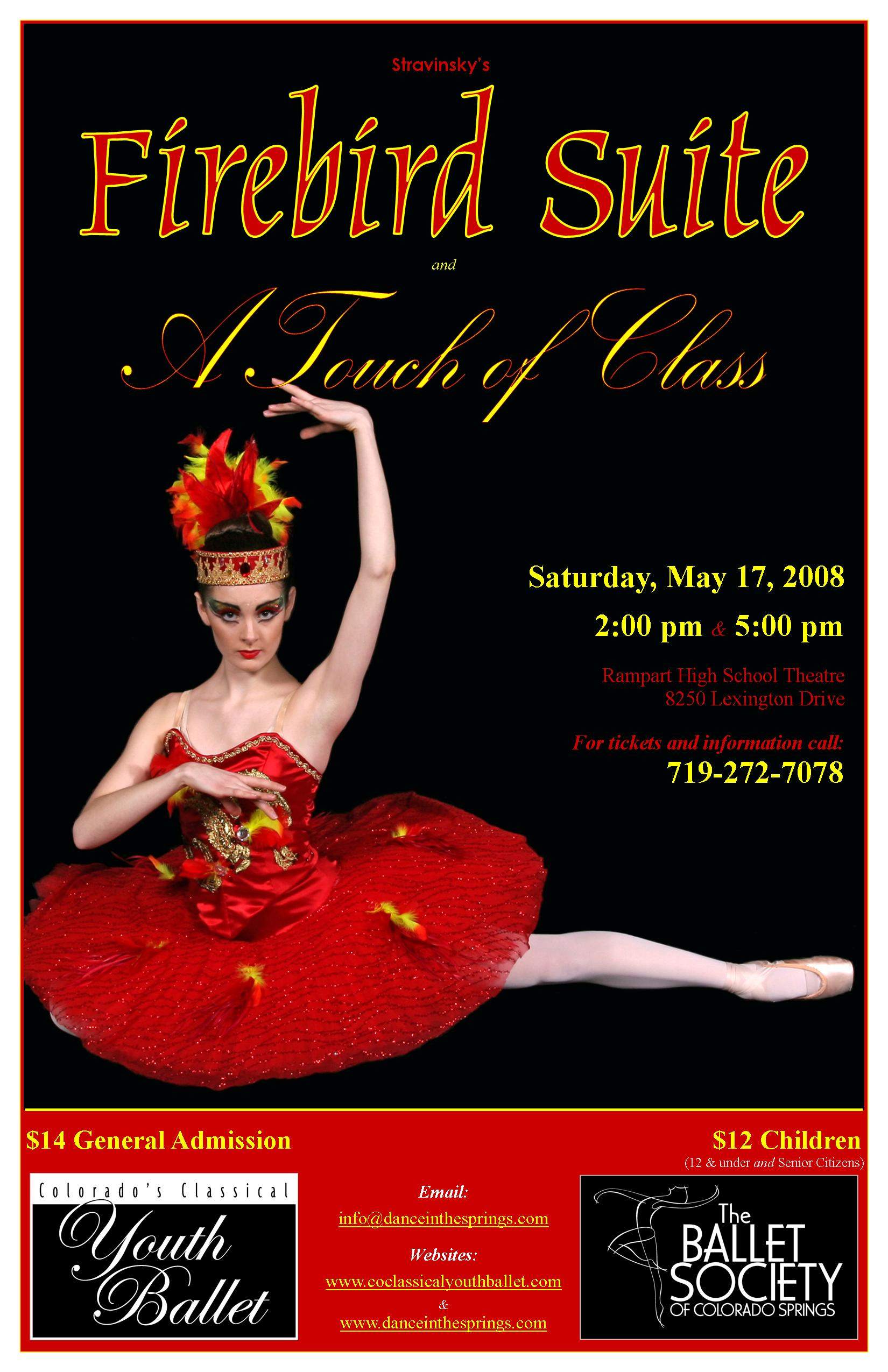 2008-5-17 Firebird and Touch of Class poster