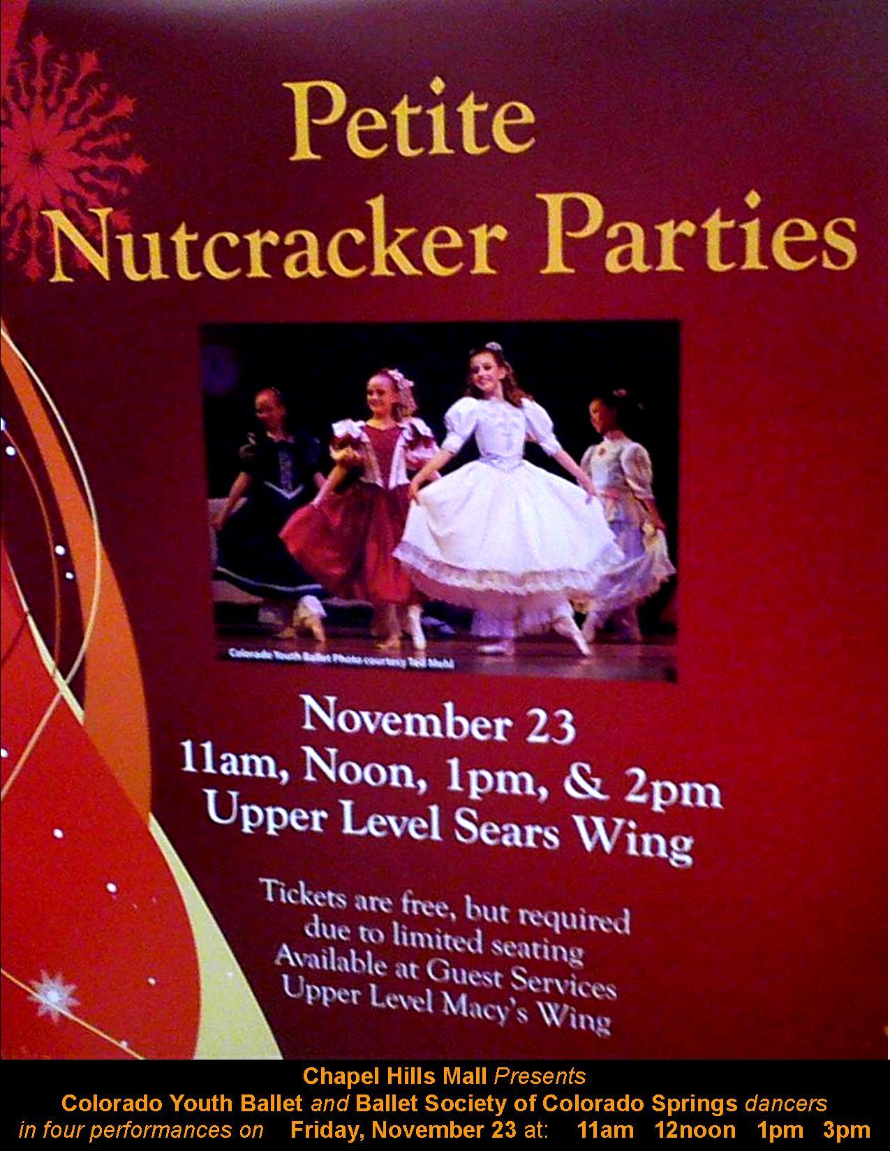 2012-11-23 Chapel Hills Mall Petite Nutcracker image