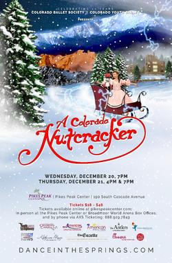 A Colorado Nutcracker Poster