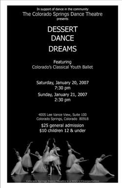 2007 Dessert Dance Dreams
