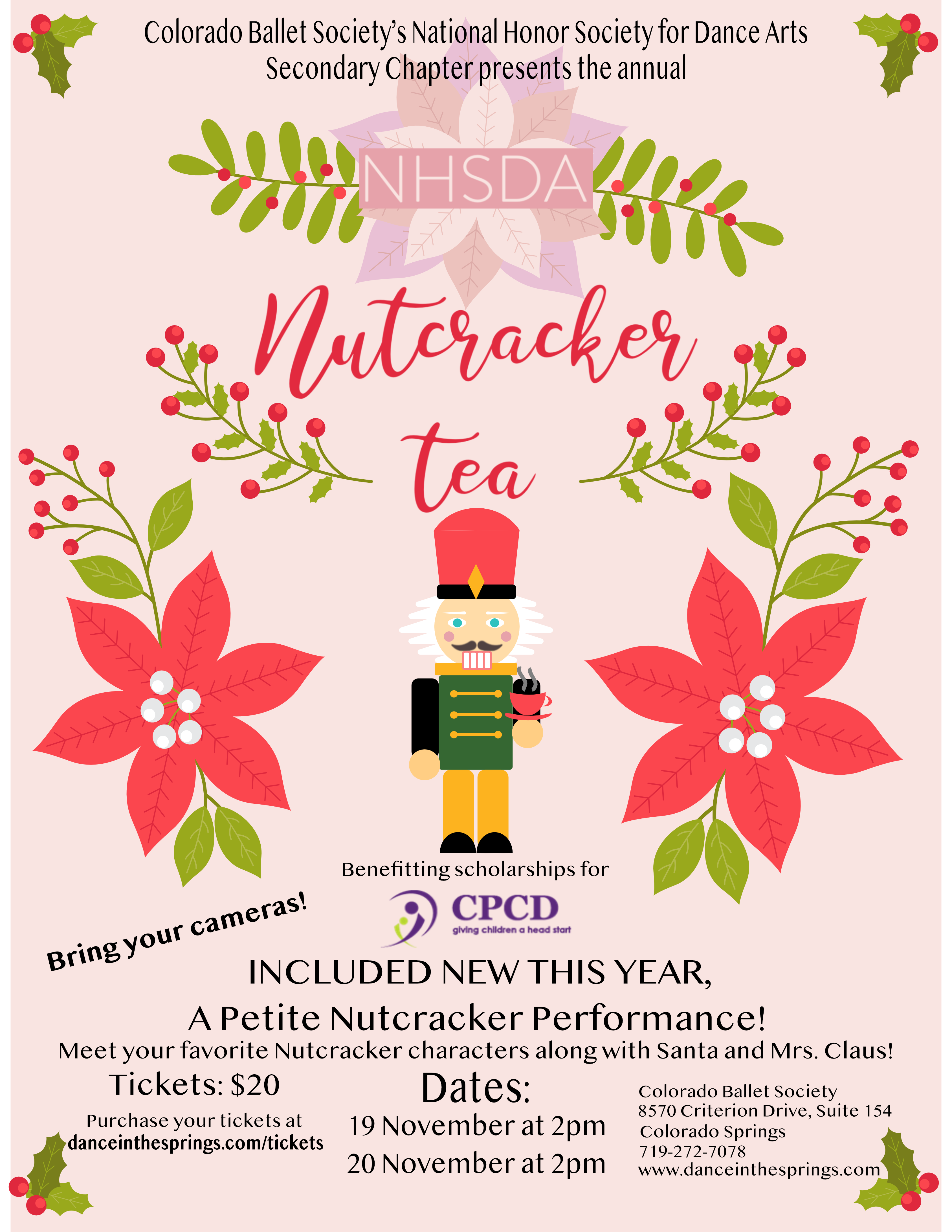 Nutcracker poster 11x17