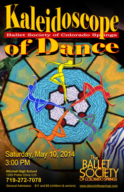 2014-5-10 Dance Kaleidoscope Studio Division poster
