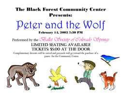 2002-2-14 Peter and the wolf
