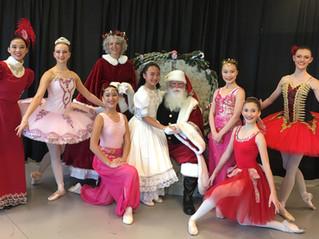 Ballet Society's National Honor Society for Dance Arts Chapter Hosts Nutcracker Tea