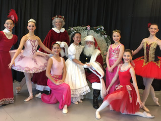 Ballet Society's National Honor Society for Dance Arts Chapter Hosts Nutcracker Tea
