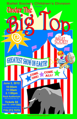 2012-6-2 Under the Big Top poster