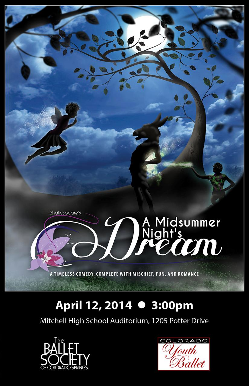 2014-4-12 A Midsummer Night's Dream DVD cover