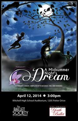 2014-4-12 A Midsummer Night's Dream DVD cover