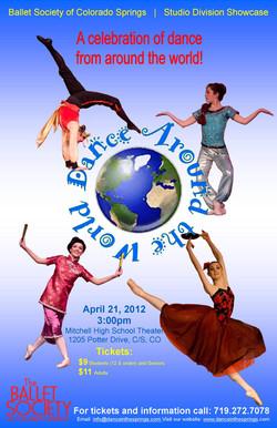 2012-4-21 Around the World poster