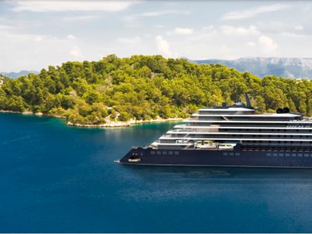 Um dos mais luxuosos hotéis do mundo, agora sobre as águas.