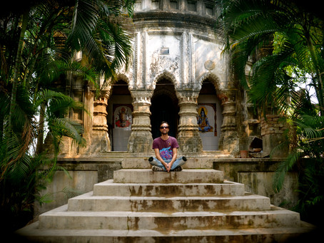 Paul Brook in India