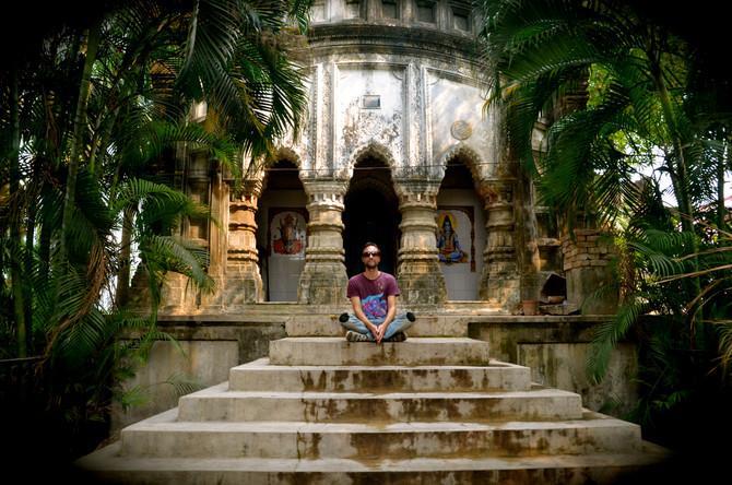 Paul Brook in India