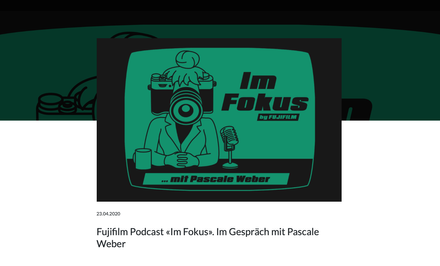 Podcast Fujifilm Switzerland 2020