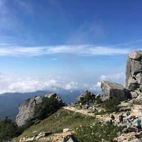 金峰山 山梨県登山