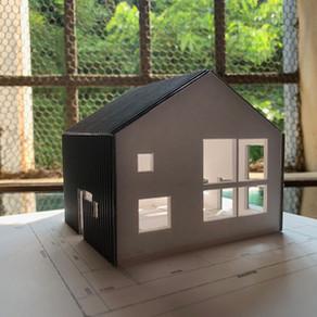 基本設計中の注文住宅