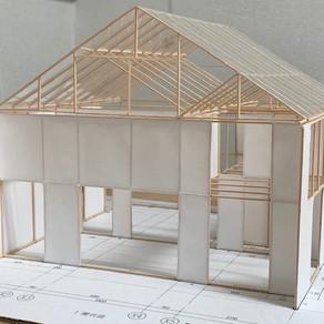 注文住宅の構造模型