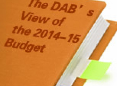 The DAB's View of the 2014-15 Budget