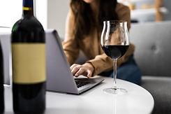Virtual Wine Tasting Dinner Event Using