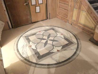 地坪造型拼花