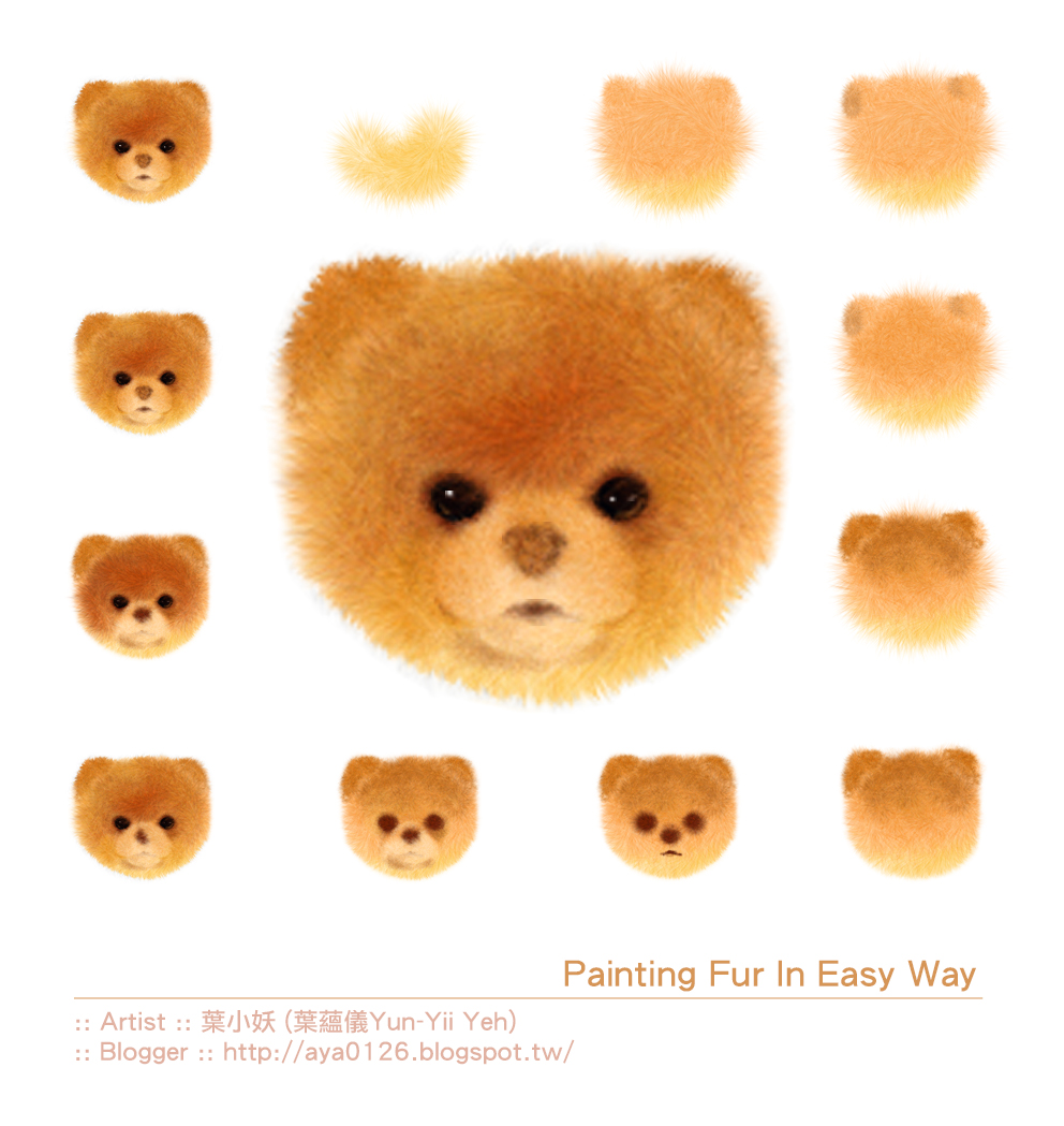 Painting_Flur_In_Easy_Way_葉小妖 (葉蘊儀 Yun-Yii Yeh)