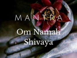 """Om Namah Shivaya - Mantra """"Om, inclino-me perante o meu divino Ser interior"""""""
