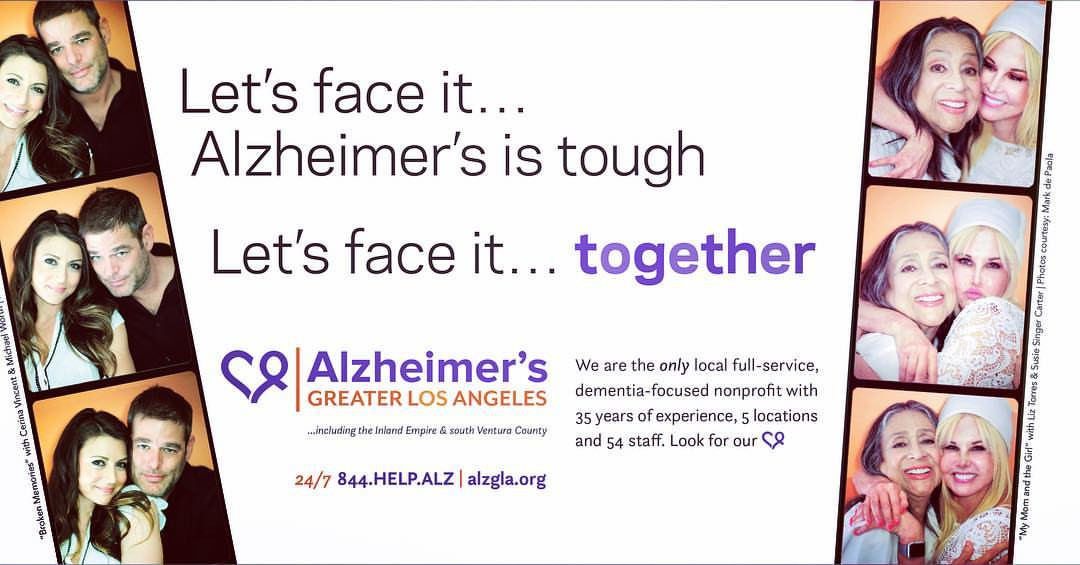 Alzheimer's LA Campaign with Liz Torres 2017