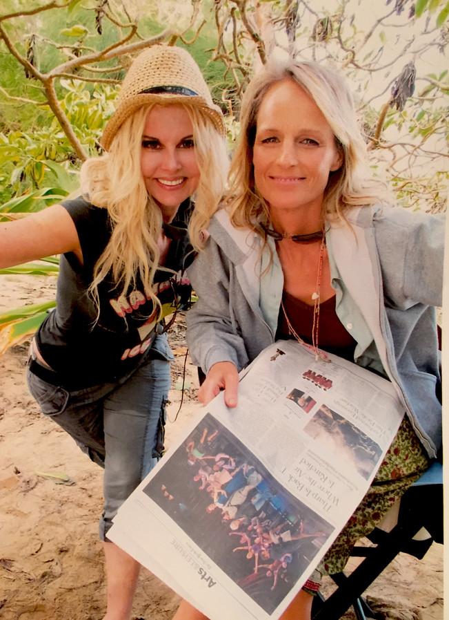 Soul Surfer shoot with Helen Hunt - Nort
