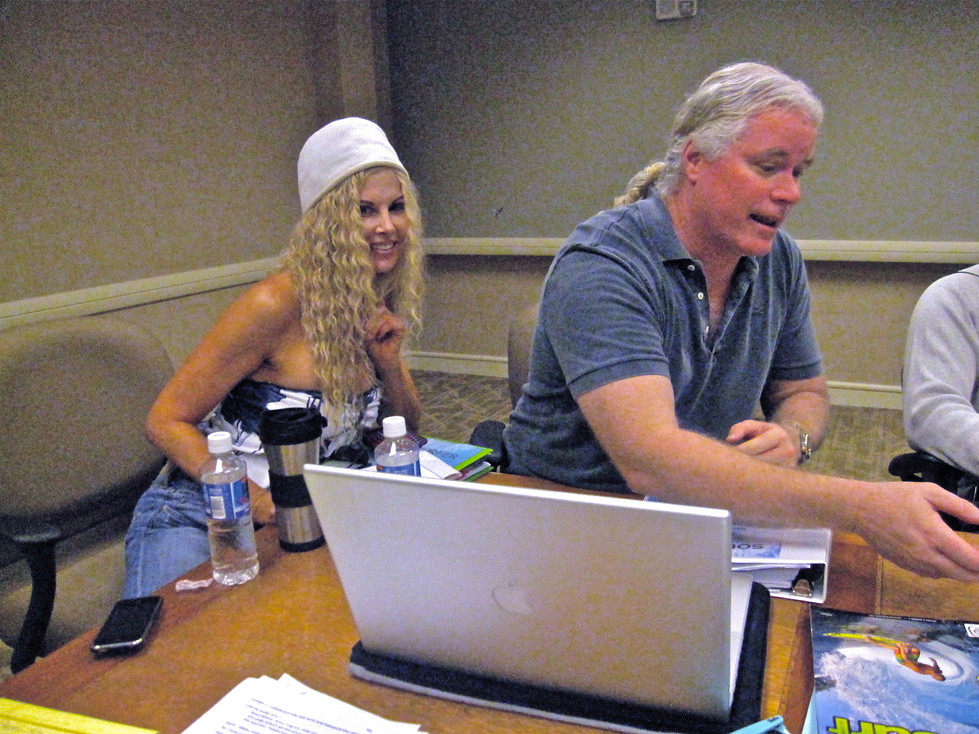 Co-producing with director Sean McNamara on Sony's Soul Surfer.