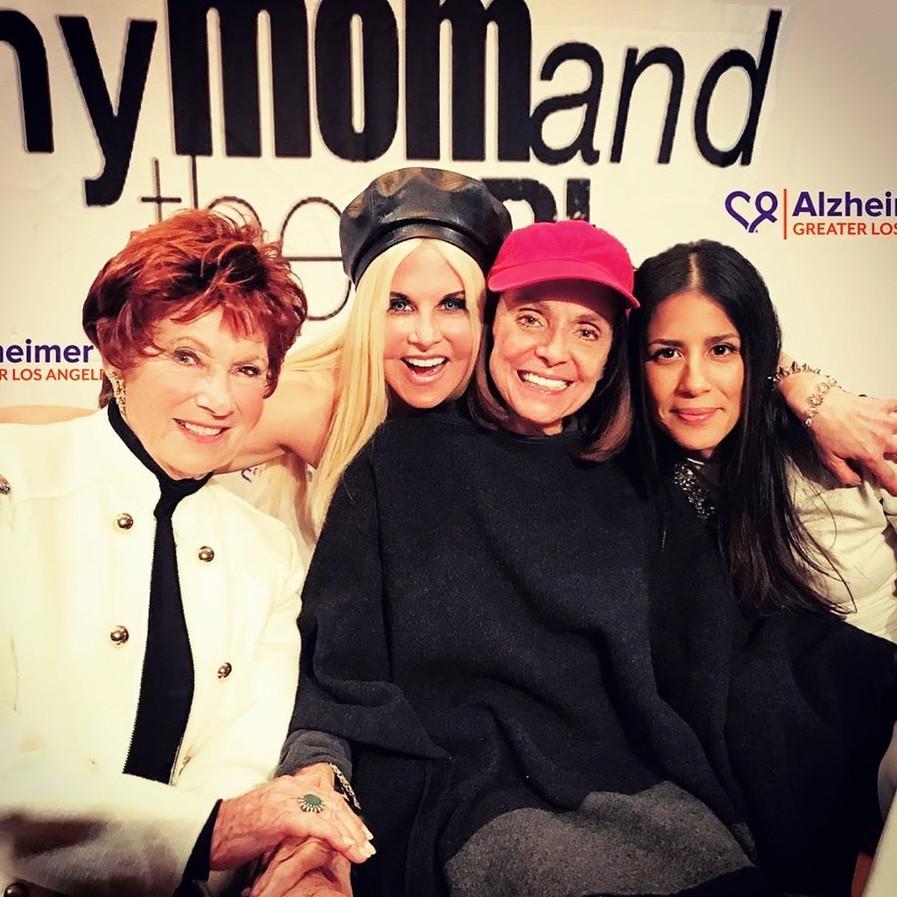 Marion Ross, SSC, Valerie Harper, DawnMarie Ferrara at academy screening.