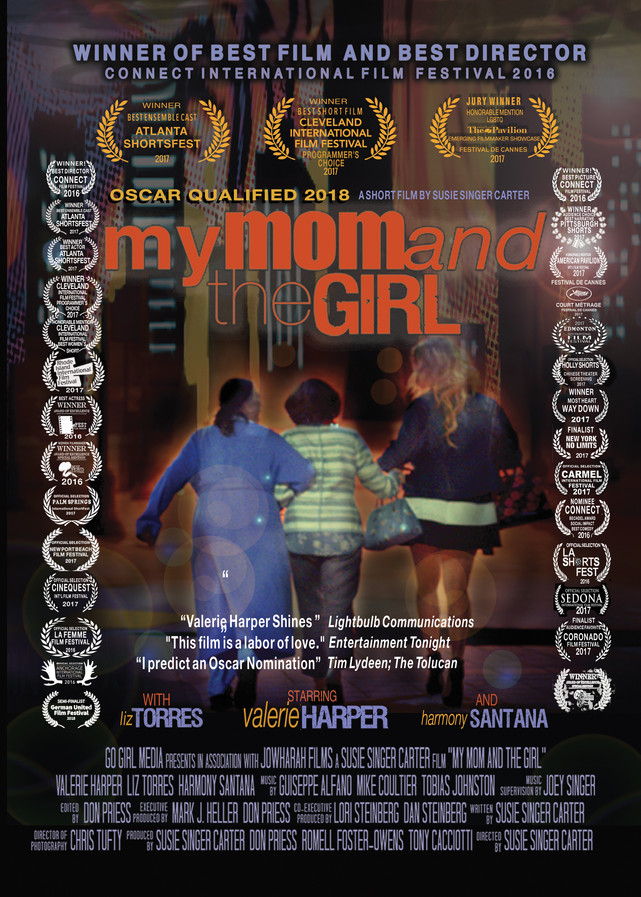 My Mom and The Girl Poster