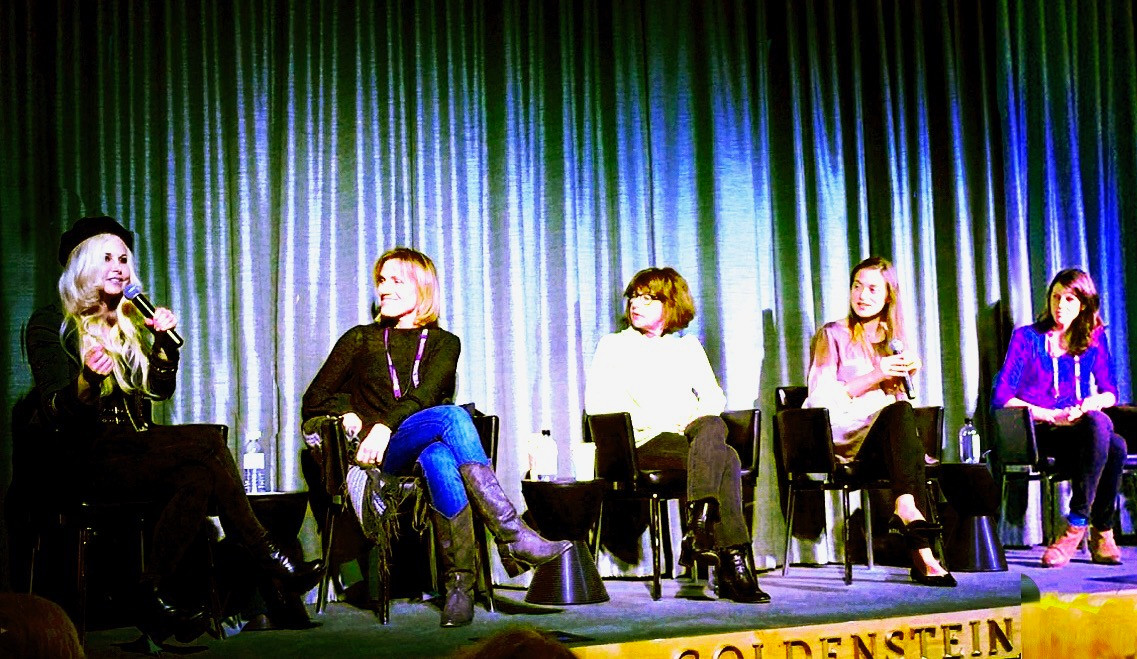 Moderating a panel of female filmmakers at Sedona Film Festival