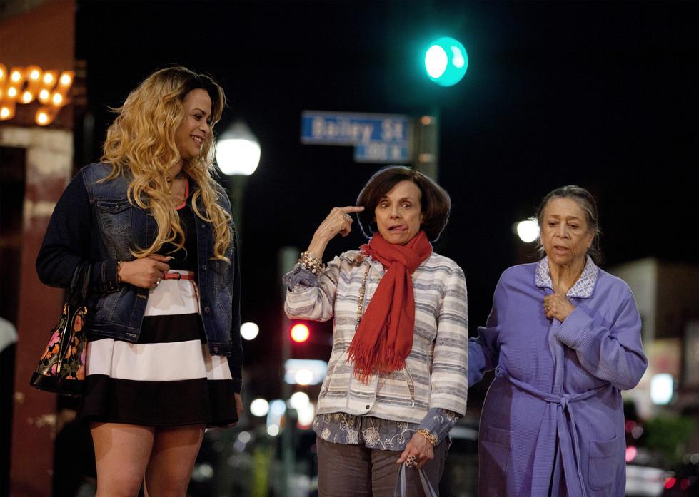 ValerieHarper, Harmony Santana, Liz Torres in My Mom and The Girl
