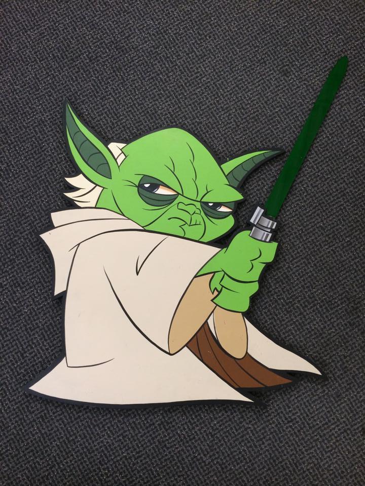 Animated Yoda