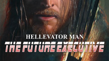 Going... DOWN!!! Hellevator Man: The Future Executive Movie Poster