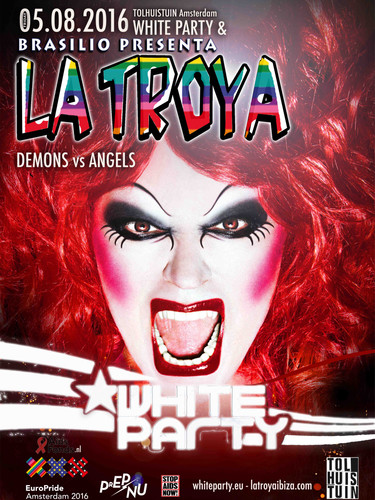 to approve La Troya White party europrid