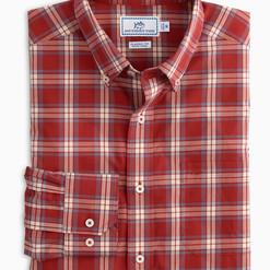 ord beach plaid button down shirt