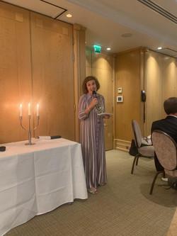 Francelle's Speech President's Weekend Runnymede Hotel