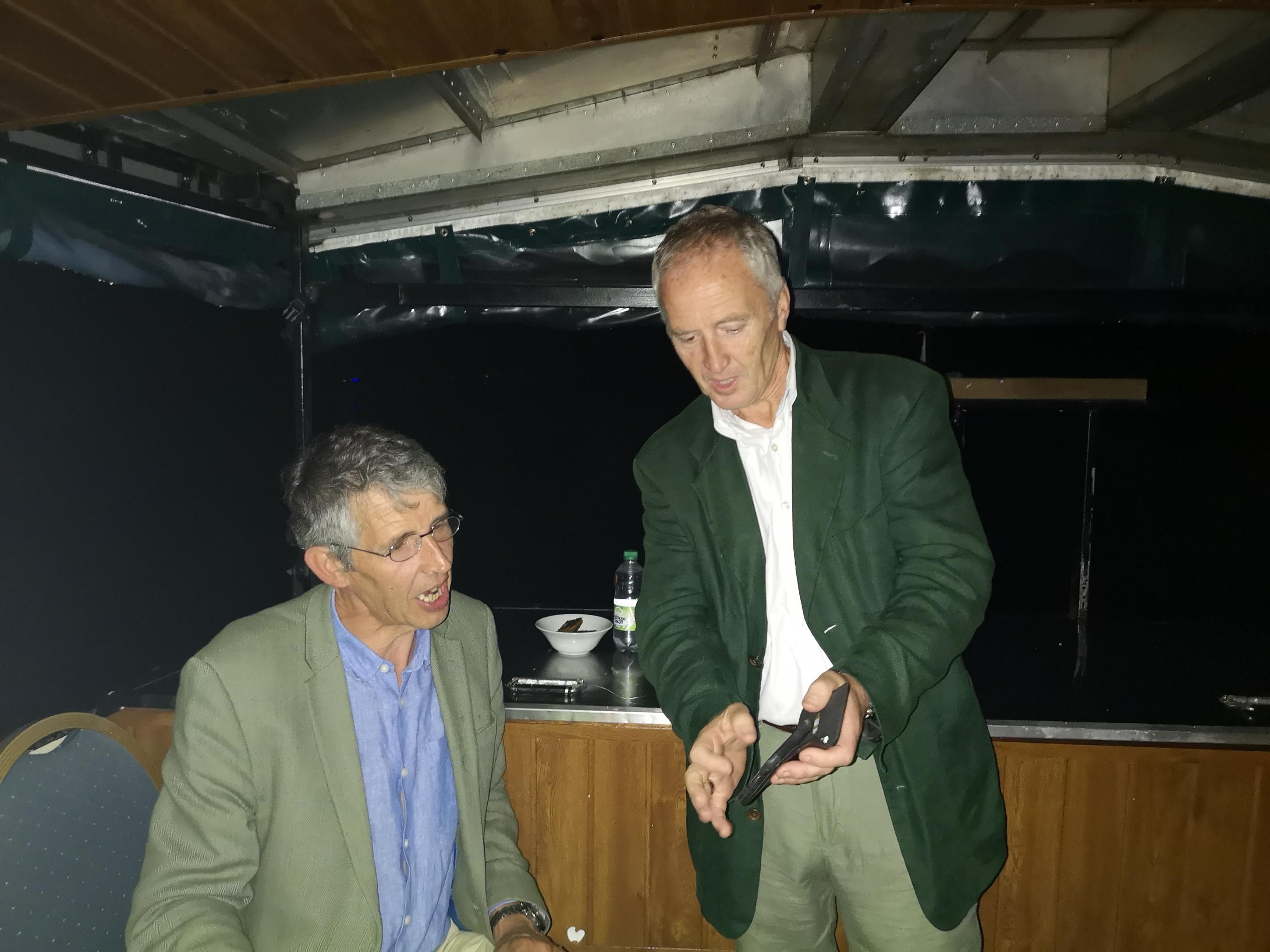 Stephen Twining and Martyn Daniels