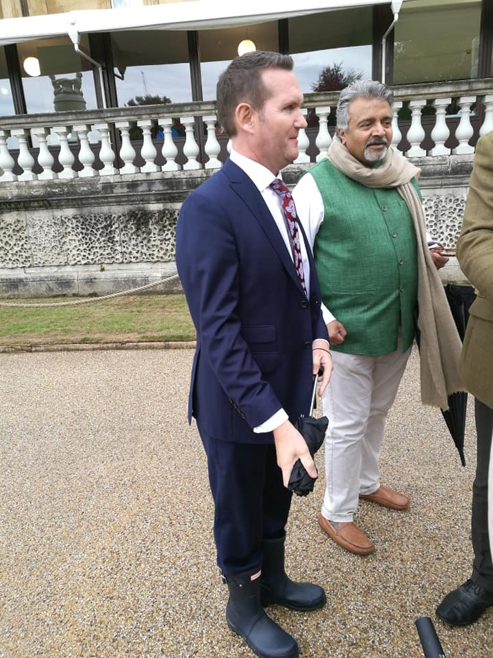 Russell and Omar Vaja Buckingham Palace