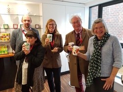 Twinings Tea tasting reception Feb 2018