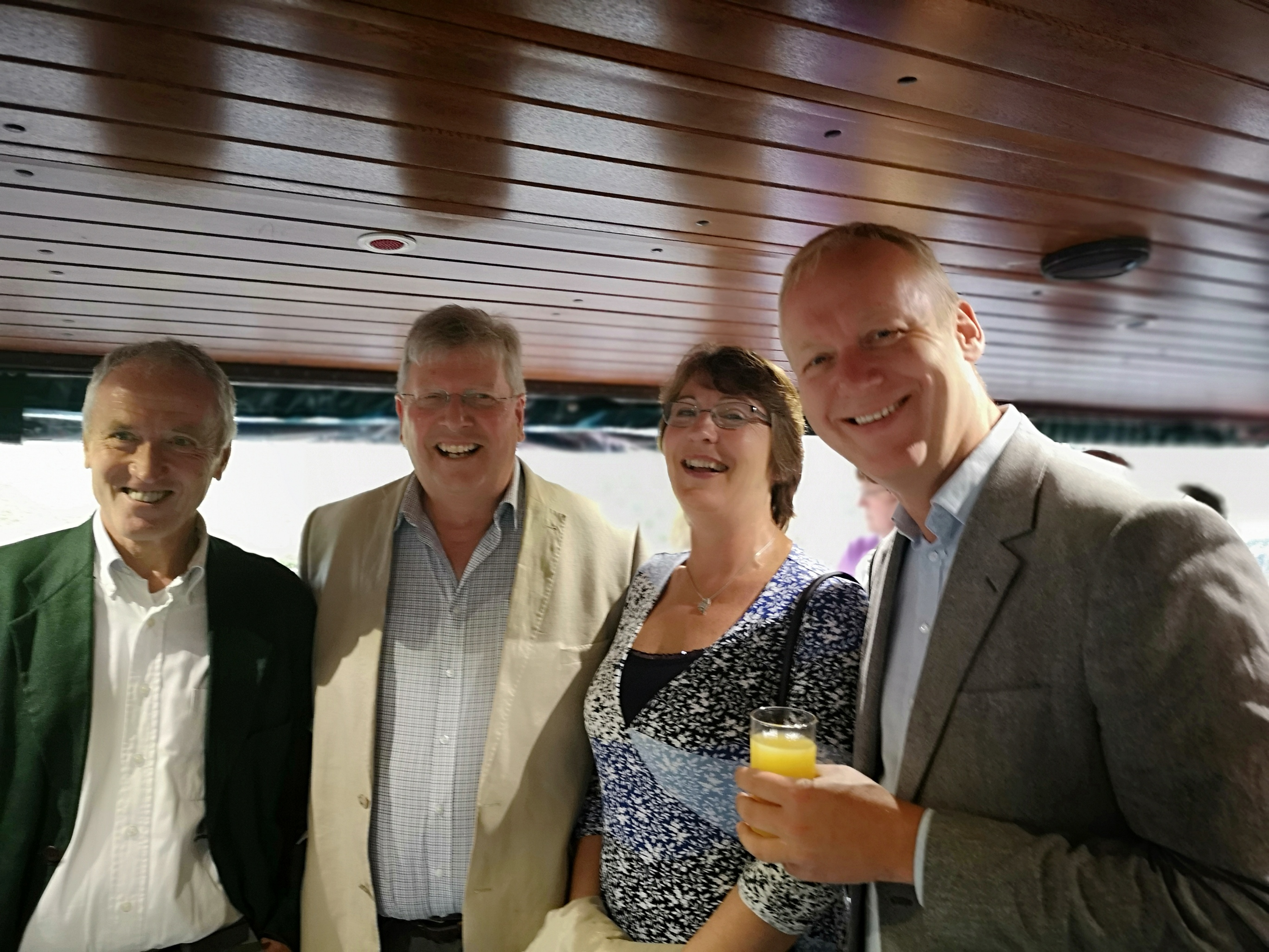 The Tarrants, Martyn and Robin Van R