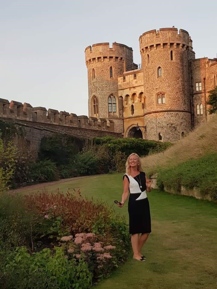 Annie Quigley Moat Gardens Windsor Castl