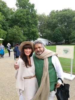 Katy Brickell and Omar Vaja Buckingham P