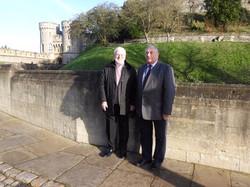 Alec McQuin and Sir James Perowne Presid