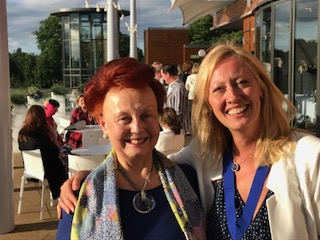 Prue and Annie Presidents's recep 2017 Dorney Lake 2
