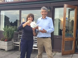 Judy Hill and Stephen Twining Tea Party and Rounders 2017